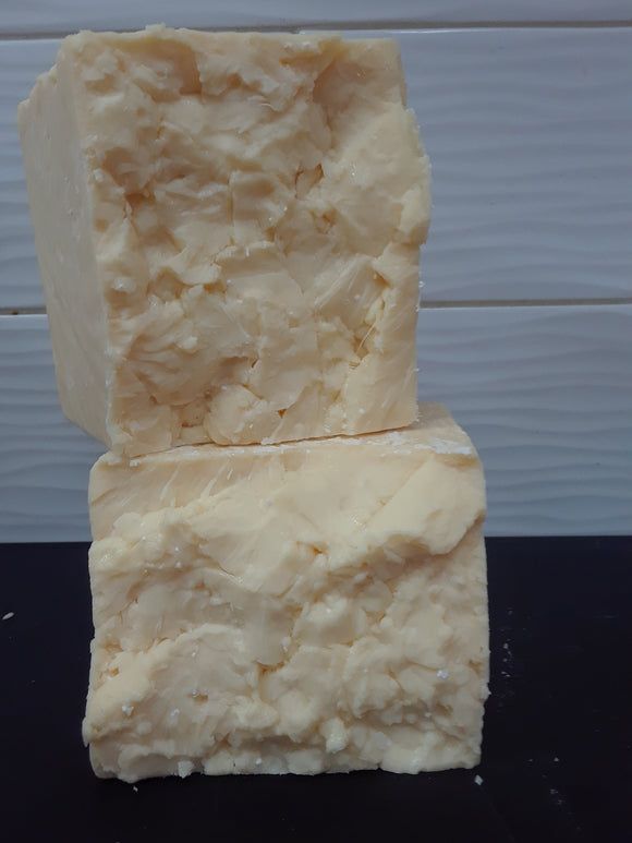 3 1/2 YEAR AGED Prairie Breeze Iowa Cheddar ($23.99/lb.)