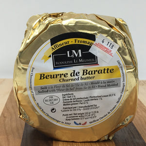 Beurre de Baratte Churned Salted French Butter