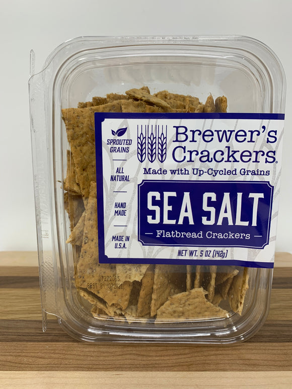 Brewer's Crackers Sea Salt Flatbread Crackers