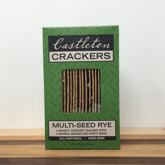 Castleton Multi-Seed Rye Crackers