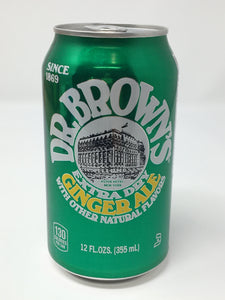 Dr. Brown's Gingerale ($1.25)