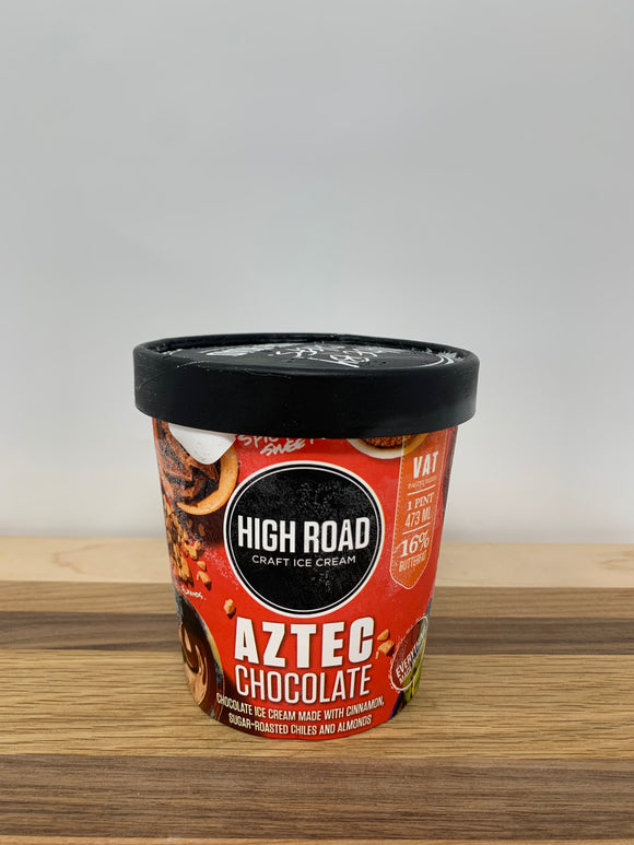 High Road Aztec Chocolate Ice Cream