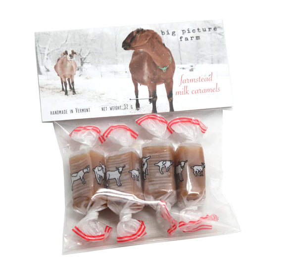 Big Picture Farms Goat Milk Caramels (4pcs sea salt vanilla)