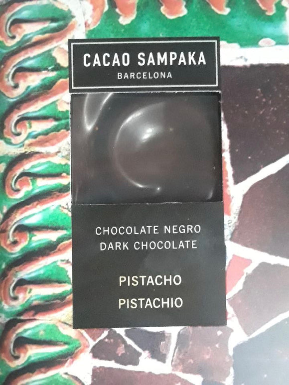 Cacao Sampaka Dark Chocolate w/ Pistachio