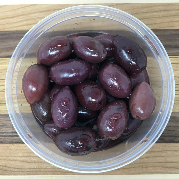 Pitted Kalamata Olives ($10.99/lb.)