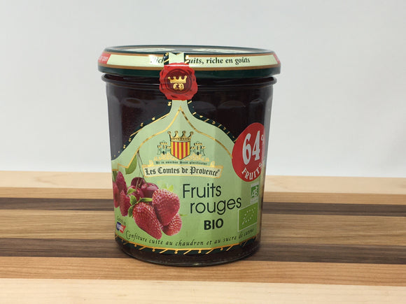 Les Comtes de Provence Organic Red Fruits Spread