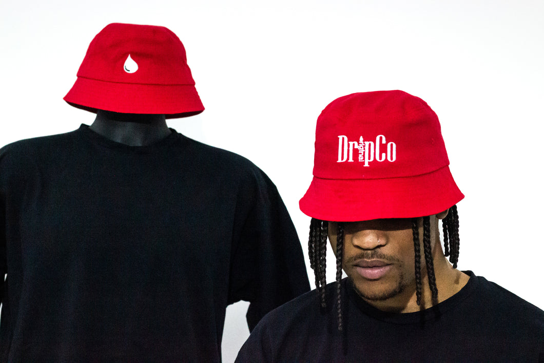 Crimson Bucket Hat