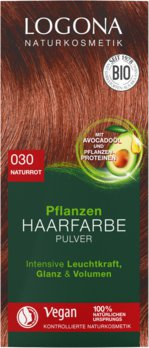 Herbal hair color powder 030 natural red