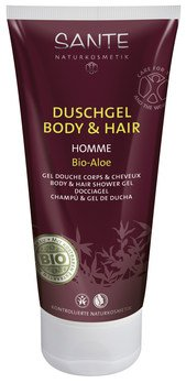 Homme Body & Hair 2in1 organic aloe shower gel