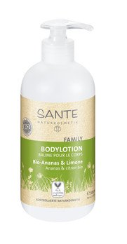 Organic pineapple & lime body lotion