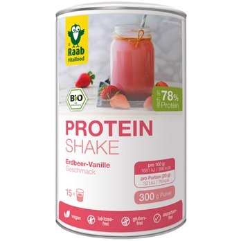 BIO Protein Shake 78 strawberry vanilla