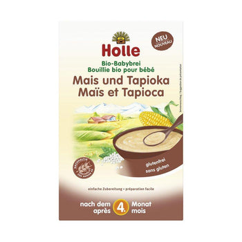 Holle Corn & Tapioca Organic Porridge Cereal, 250g