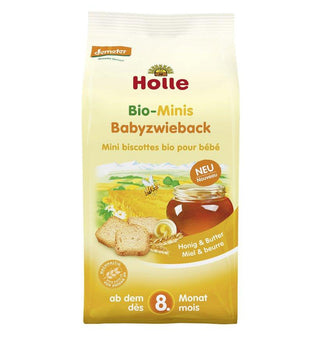 Holle Minis Baby Rusks From The 8th Month