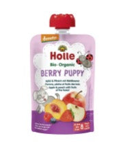 12 x 90g, Holle Pouchy Berry Puppy