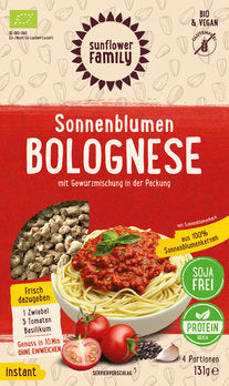 Bolognese sunflower with mixed herbs