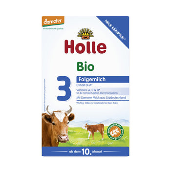 Holle 3 Organic (Bio) Follow-on Infant Milk Formula (600g)