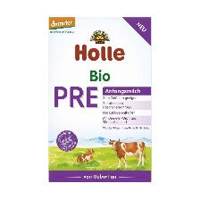 9 x Holle Pre, 600g Organic Infant Formula