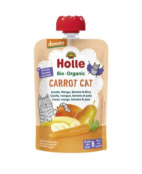 12 x 100g, Holle Pouchy Carrot Cat