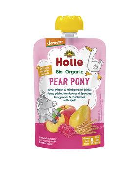 12 x 100g, Holle Pouchy Pear Pony