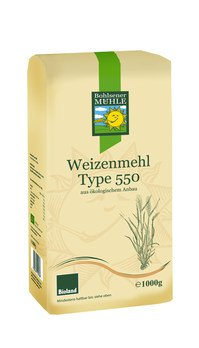 Wheat flour type 550