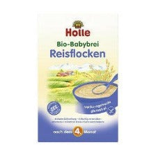 Holle Rice Flakes Organic Porridge Cereal, 250g
