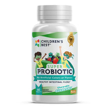 Load image into Gallery viewer, Sugar-Free Super Probiotic for Kids - 60 Tablets