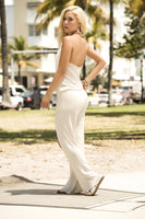 Ivory Lightweight Jumpsuit By Mapale