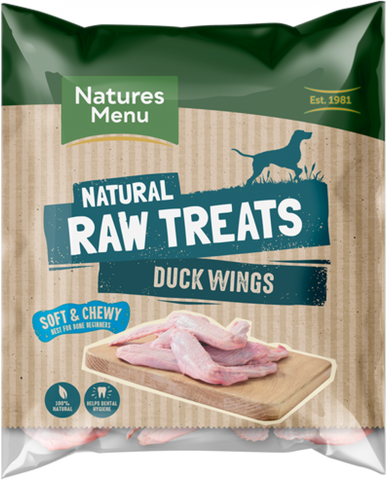 RAW CHEWS DUCK WINGS FOR DOGS (Pack size 6 x Duck Wings) - ZARDS PET SUPPLIES