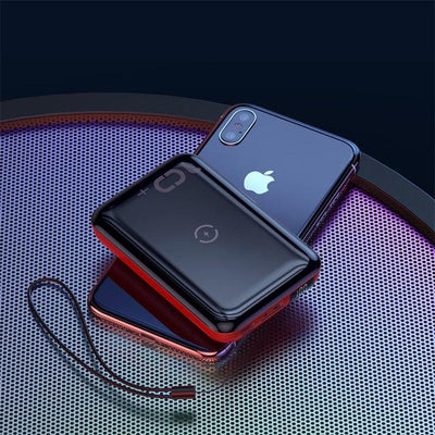 Wireless Power Bank LedooX™ Red