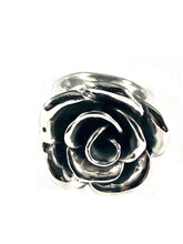 Load image into Gallery viewer, Rose Sterling Silver Ring SR00005