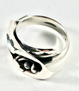 Sterling Silver Ring SR00021