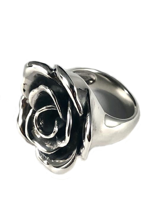 Rose Sterling Silver Ring SR00005