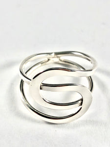 Sterling Silver Ring SR00012