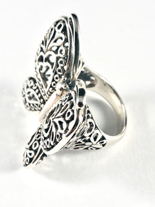 Butterfly Sterling Silver Ring SR00002