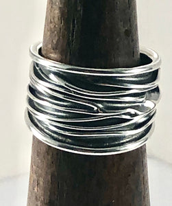 Sterling Silver Ring SR00016