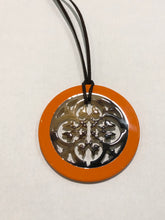 Load image into Gallery viewer, Horn & Lacquer Pendant 13121
