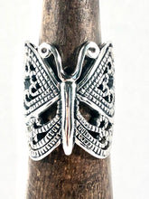 Load image into Gallery viewer, Sterling Silver Butterfly 🦋 Ring