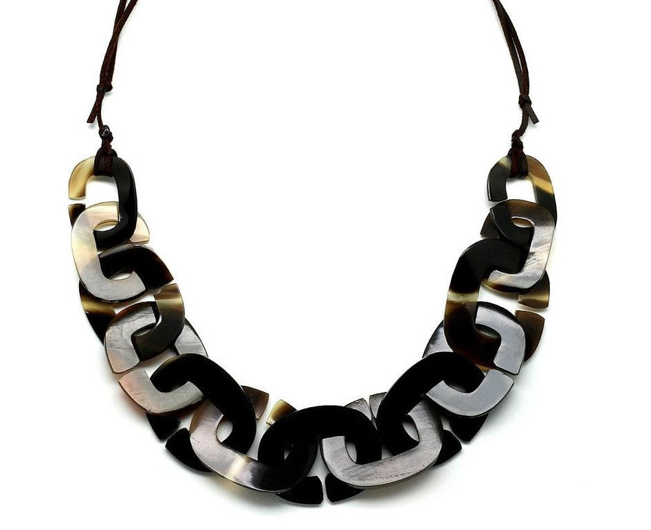 Horn String Necklace