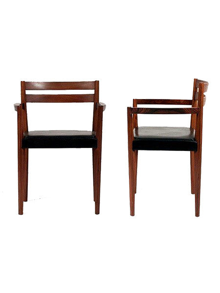 1960s thonet teak armchairs design vintage wood furniture