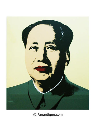 Andy Warhol Mao Yellow sérigraphie screenprint art prints