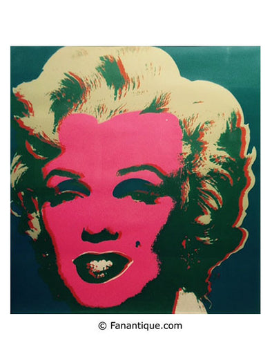 Andy Warhol Marilyn sérigraphie screenprint art