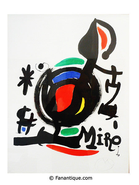 Joan Miro Essences de la terre lithographies art prints