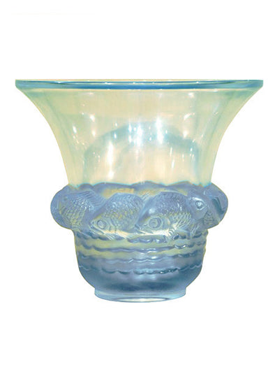 Rene Lalique vase Piriac art deco decoration antiquités