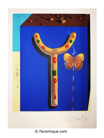 Salvador Dali Béquilles surréalistes surreal crutches 1971 prints
