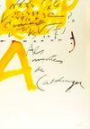 Antoni Tapies Estampes art prints modern art