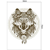 STICKERS LOUP <br> INDIEN