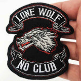 patch loup solitaire