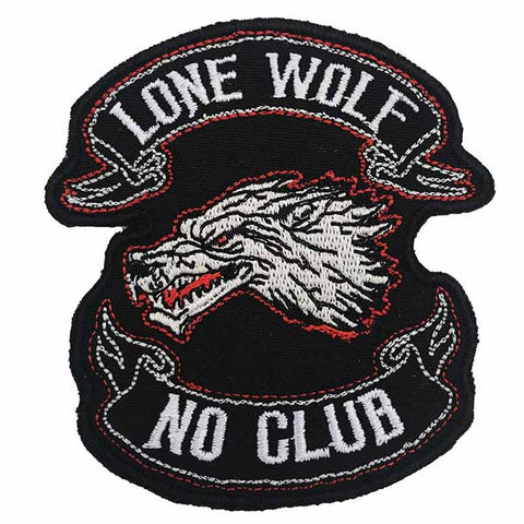 patch thermocollant loup solitaire