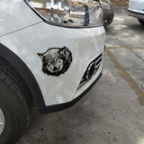 Stickers loup pour voiture
