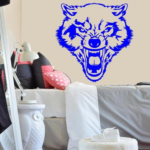 STICKERS LOUP <br> SAUVAGE